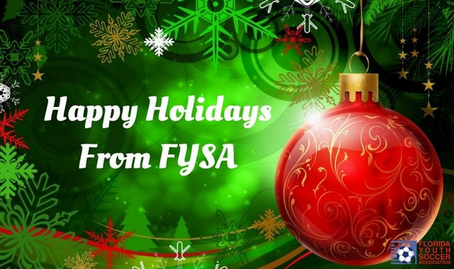 Happy Holidays from FYSA